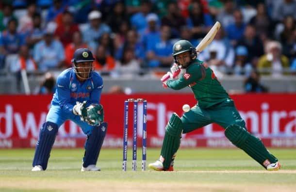 Bangladesh's Mushfiqur Rahim in action