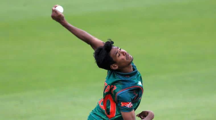 mustafizur rahman, india vs bangladesh, icc champions trophy, indian express