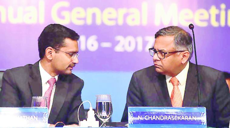 tcs, tata sons, tata sons chairman, ratan tata, business news, indian express news