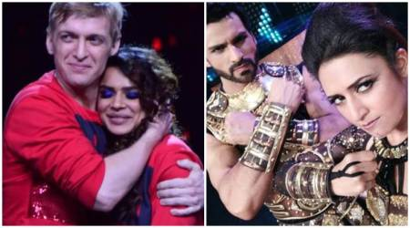 Nach Baliye 8: Divyanka Tripathi-Vivek Dahiya work harder after Aashka Goradia-Brent Goble's shocking elimination. See photos, video