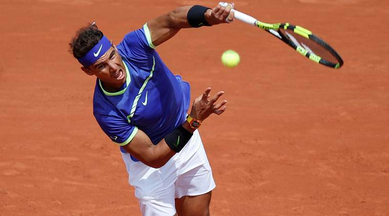 Rafael Nadal, French Open 2017, Indian Express