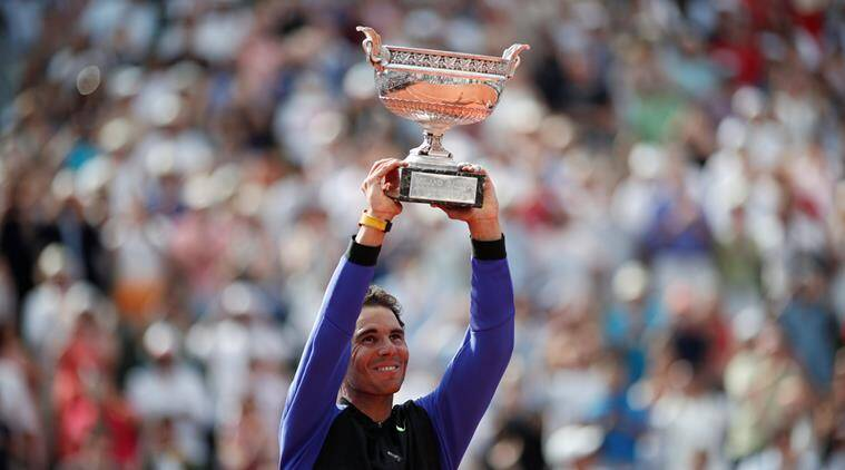 rafael nadal, french open, nadal records, indian express