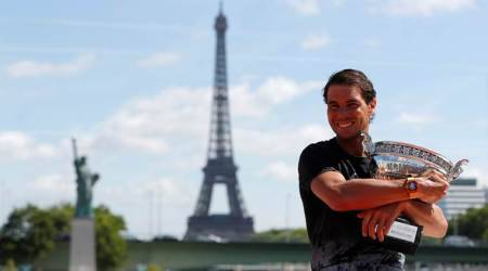 Rafael Nadal moves up to No. 2 in ATP ranking, Novak Djokovic slides to fourth