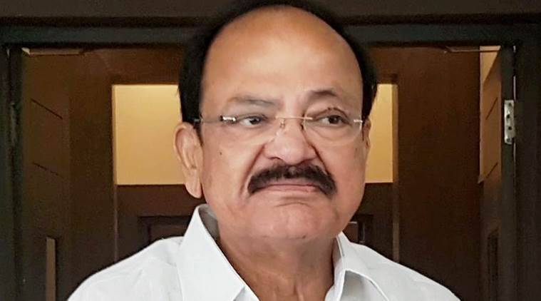 m venkaiah naidu news, preisdential candidature news, india news, indian express news