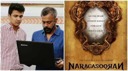 Dhuruvangal Pathinaaru director Karthick Naren's next project Naragasooran cast announced. See photos