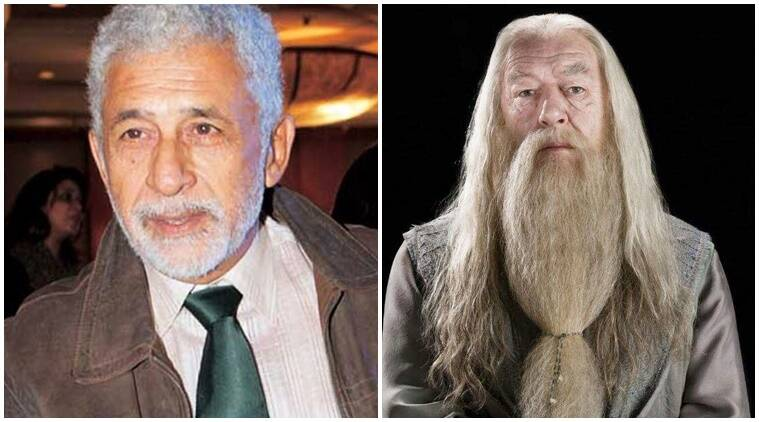 naseeruddin shah, naseeruddin shah albus dumbledore, albus dumbledore bollywood, harry potter bollywood