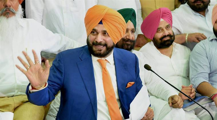 Punjab Local Bodies Minister Navjot Singh Sidhu, IAS officer Satish Chandra , A Venu Prasad, , Chief Minister Amarinder Singh, Punjab news, Navjot Singh Sidhu news, indian express news