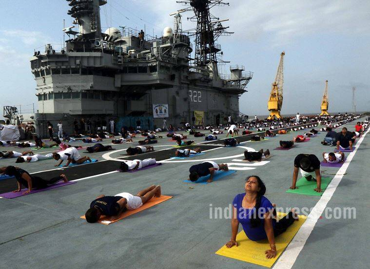 India converges to celebrate Int'l Yoga Day