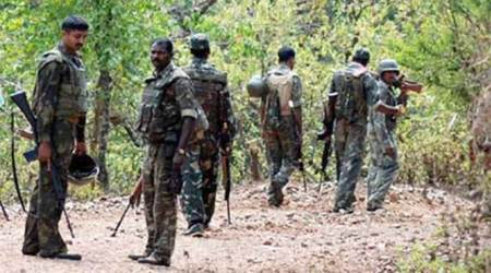Maoists, bihar Maoists, Maoists attack, Maoists destroy community hall, indian express news, india news