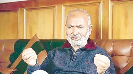 Nayeem Akhtar, Peoples Democratic Party, BJP PDP alliance, J&K govt, Kashmir news, latest news, indian express