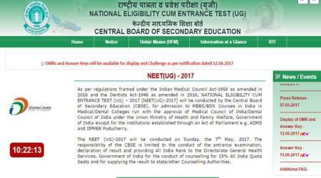 NEET 2017 result announced, check cut-off here