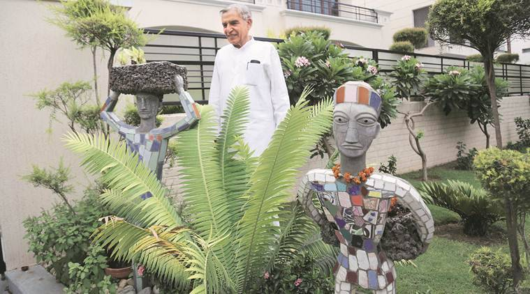 nek chand, pawan kumar bansal, india news, indian express news