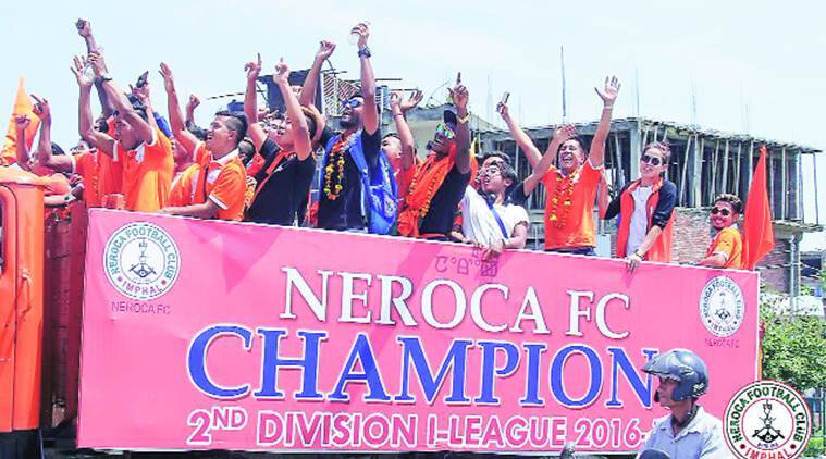 Neroca FC, Neroca FC I league entry, I league second division