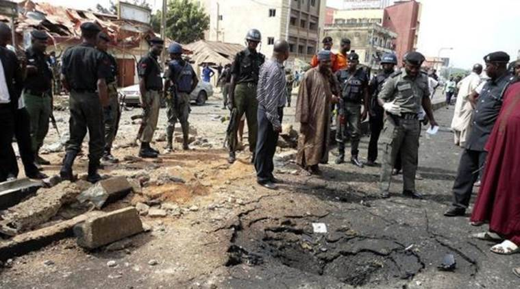North East Nigeria Attack, Nigeria Boko Haram Violence, Nigeria Suicide Bomb Attack, Boko Haram, Boko Haram Nigeria Attack, World News, Latest World News, Indian Express, Indian Express News
