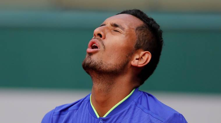 french open 2017, nick kyrgios, kyrgios, roland garros, tennis news, sports news, indian express