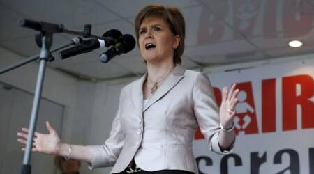 nicola sturgeon, scotland first minister, scotland, theresa may, scotland, brexit, world news, indian express