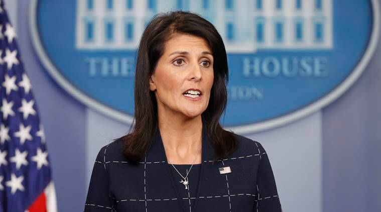 Nikki Haley on Donald Trump and sexual harassment cases