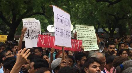 At Jantar Mantar: Not in my name, I came here to break the silence