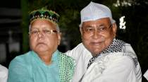 Nitish at Lalu's Iftar party despite differences over presidential nominees
