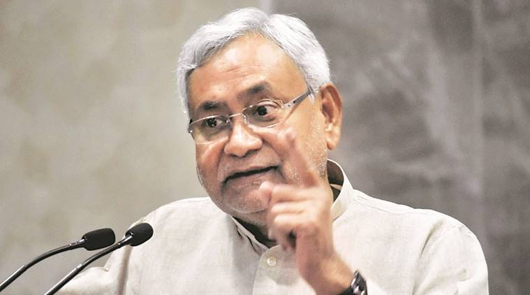 Nitish Kumar, Bihar CM Nitish Kumar, Bihar Chief Minister Nitish Kumar, Lalu Prasad, Nitish Kumar Grand Alliance, Bihar CM Grand Alliance, Lalu Prasad Benami Case, India News, Indian Express, Indian Express News