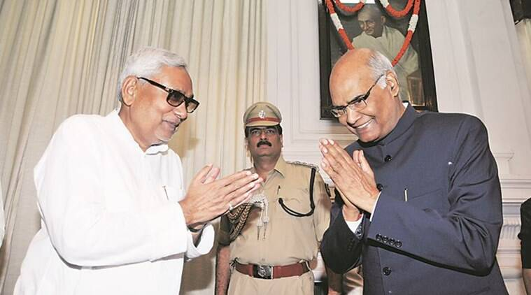 Nitish Kumar, Presidential polls, Ram Nath Kovind, Bihar Governor
