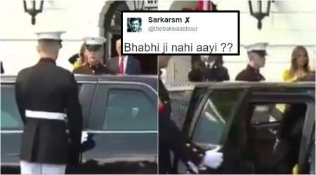 'No Mrs Modi': Guard opens car door waiting for 'Mrs Modi' to step out; video goes viral