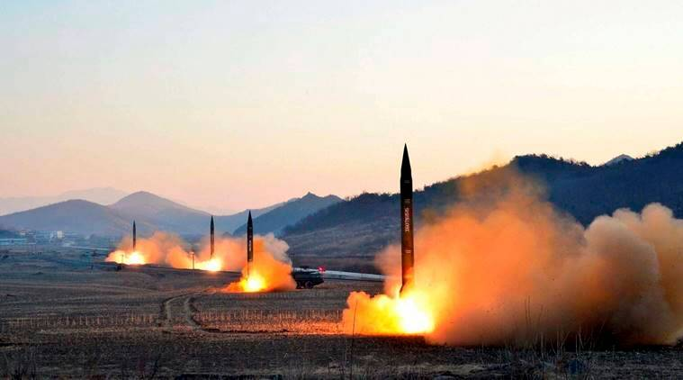 N. Korea fires several projectiles, S. Korea says