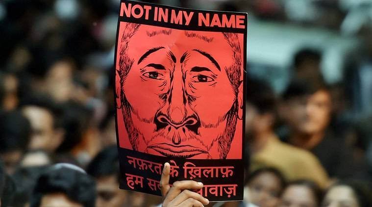 Not In My Name, #NotInMyName, jantar mantar, jantar mantar protests, lynching, india lynching, Junaid Khan, Junaid Khan death, india news