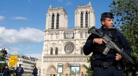 Notre Dame attacker pledges allegiance to Islamic State in a video:Reports