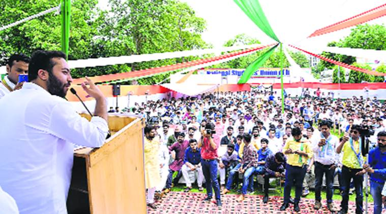 Fairoz Khan, NSUI president, NSUI, Congress youth wing