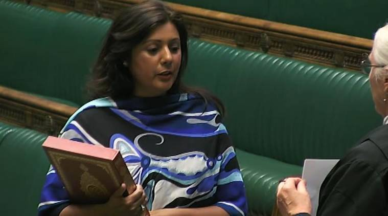 nusrat ghani, british mp, british mp urdu oath, nusrat ghani oath, british mp oath in urdu, pakistan news