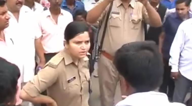 UP policewoman who stood up to local BJP leaders transferred