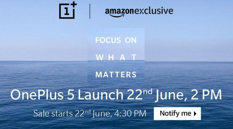 OnePlus 5 will feature 8GB RAM, reveals Amazon India teaser page code