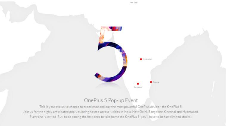 oneplus 5 oneplus 5 popup events india oneplus 5 amazon oneplus