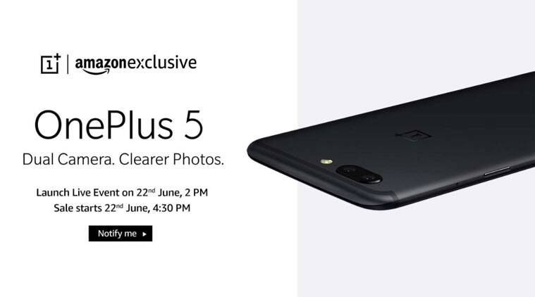 OnePlus 5, OnePlus 5 launch, OnePlus 5 India launch, OnePlus 5 livestream, OnePlus 5 live video, OnePlus 5 launch features, OnePlus 5 specs, OnePlus 5 features, OnePlus 5 India price, OnePlus 5 Amazon India, mobiles, smartphones