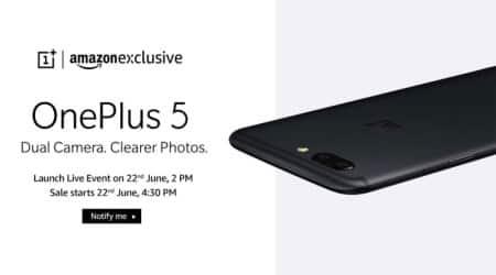 OnePlus 5, OnePlus, OnePlus 5 launch, OnePlus 5 India launch, OnePlus 5 India price