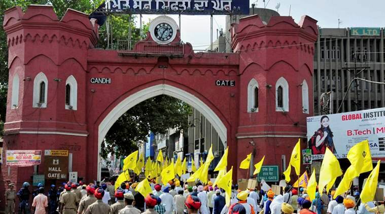 The Hazur Sahib act of contention