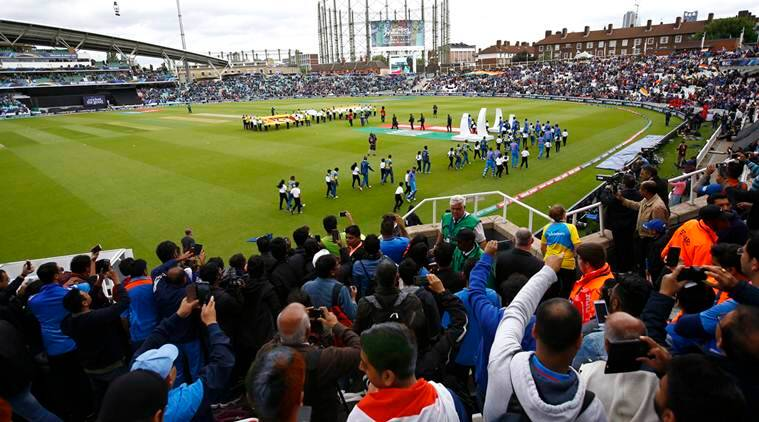 The Oval, Surrey, Indian Express