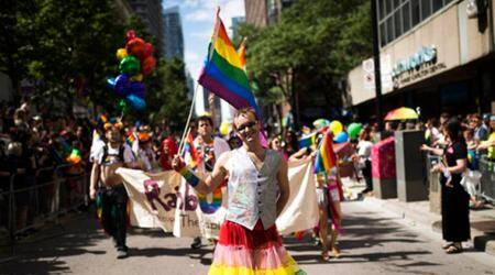 Gay pride parades sound a note of resistance and face some