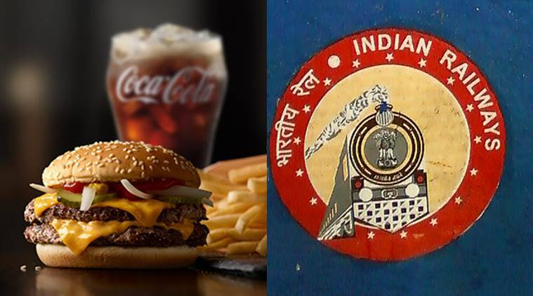 Online food order railways, Fast food Indian railways, e-catering services, Indian express, India news