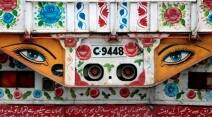 Pakistan artwork, Pakistani trucks, decorated trucks, trucks of Pakistan, Indian express, Indian express news