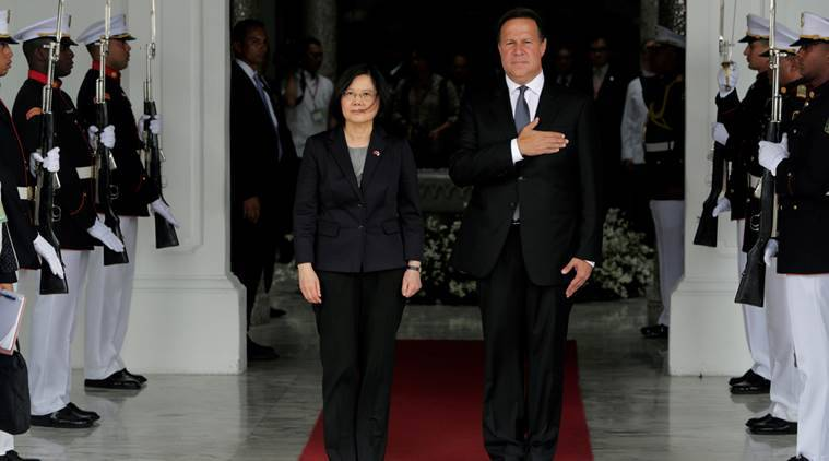 Panama switches diplomatic recognition from Taiwan to China