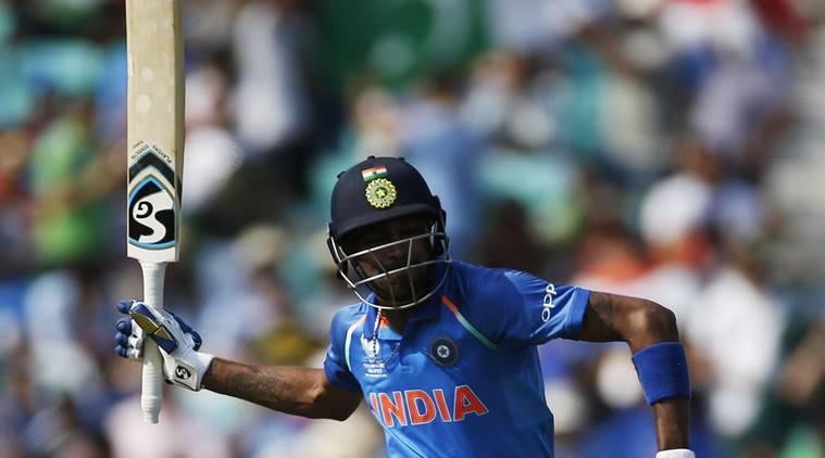 hardik pandya, pandya, hardik pandya fastest fifty, icc champions trophy 2017, india vs pakistan, india, champions trophy, cricket, indian express