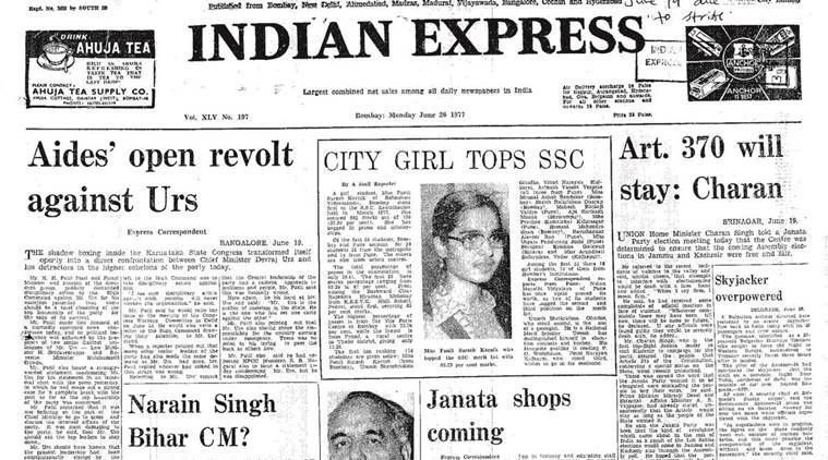 Charan Singh, Congress, Janata Party, Devraj Urs, Pakistan elections, US-Pakistan trade, Indian Express