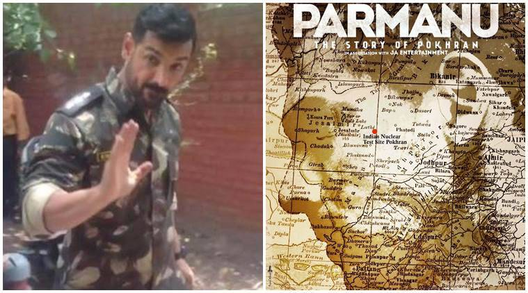 Permanu first look: John Abraham says it's his biggest test!