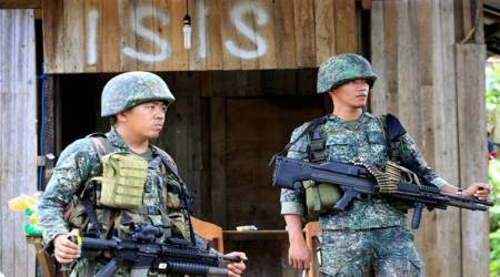 philippines, islamic state, marawi city, isis, philippines isis strike, isis take over philippine city, world news, islamic terrorism, south east asia, indian express