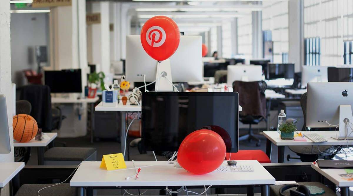 Pinterest, faster growing competitors, Facebook, Instagram, Pinterest features, Lens camera