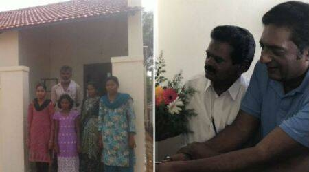 Actor Prakash Raj gifts brand new home to a poor family on Eid