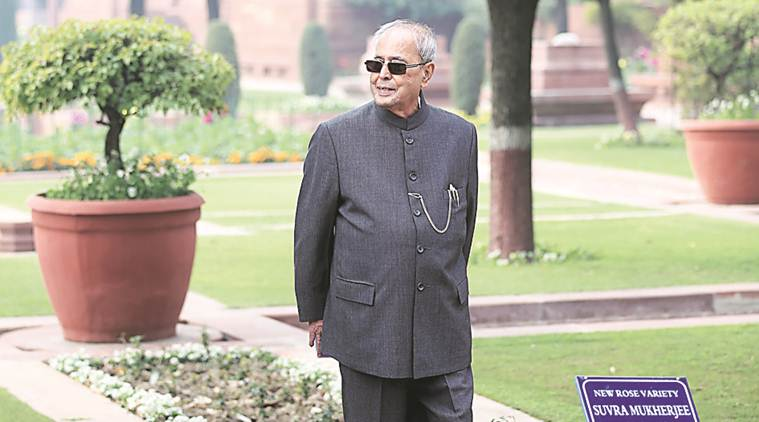 Pranab Mukherjee, Pranab Mukherjee tenure, Pranab Mukherjee thanks colleagues, Academy of Fine Arts Kolkata, indian express news
