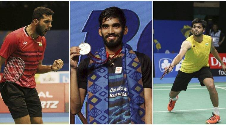 b sai praneeth, hs prannoy, kidambi srikanth, badminton news, sports news, indian express